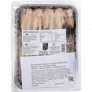 Сельдь атлантическая филе «Матье» слабосоленая, мороженая, 600 г.