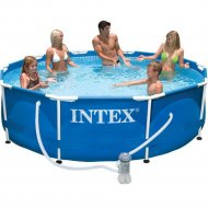 Каркасный бассейн «Intex» Metal Frame, 56999/28202