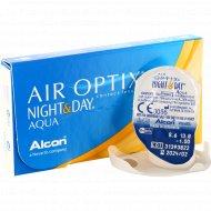Линзы контактные «Air Optix Night&Day Aqua» r8,6 -1.00.