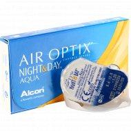 Линзы контактные «Air Optix Night&Day Aqua» r8,6 -1.25.
