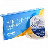 Линзы контактные «Air Optix Night&Day Aqua» r8,6 -1.75.