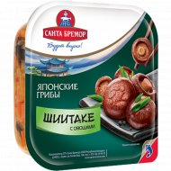 Салат «Грибы шиитаке с овощами» 150 г