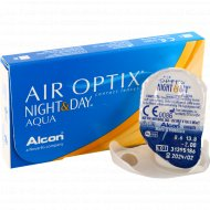 Линзы контактные «Air Optix Night&Day Aqua» r8,6 -2.00.