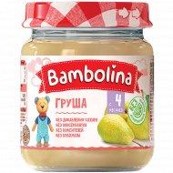 Пюре «Bambolina» груша, 100 г