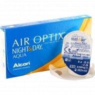 Линзы контактные «Air Optix Night&Day Aqua» r8,6 -2.25.
