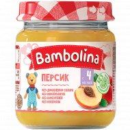 Пюре «Bambolina» персик, 100 г.