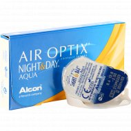 Линзы контактные «Air Optix Night&Day Aqua» r8,6 -2.50.