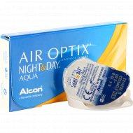 Линзы контактные «Air Optix Night&Day Aqua» r8,6 -2.50.