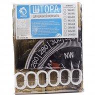 Занавес-шторка для ванной полиэстер 180 х 180 см.