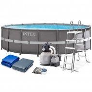 Каркасный бассейн «Intex» Ultra Frame, 26340NP