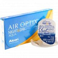 Линзы контактные «Air Optix Night&Day Aqua» r8,6 -4.50.