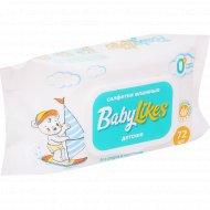 Салфетки влажные «Baby Likes» детские, 72 шт.