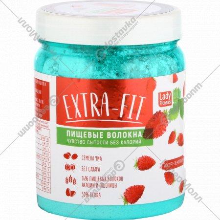 Пищевые волокна «Extra Fit» со вкусом земляники, 250 г.
