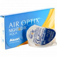 Линзы контактные «Air Optix Night&Day Aqua» r8,6 -2.75.