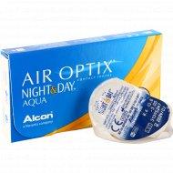 Линзы контактные «Air Optix Night&Day Aqua» r8,6 -3.00.