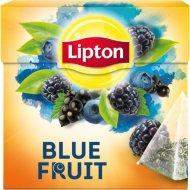 Чай чёрный «Lipton» голубые ягоды, 20 пакетиков.