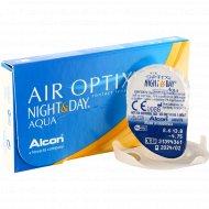 Линзы контактные «Air Optix Night&Day Aqua» r8,6 -4.75.