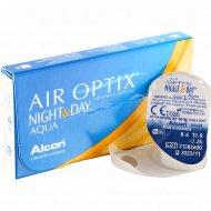 Линзы контактные «Air Optix Night&Day Aqua» r8,6 -3.25.