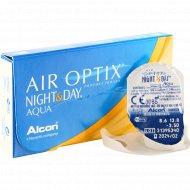 Линзы контактные «Air Optix Night&Day Aqua» r8,6 -3.50.