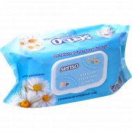 Влажная туалетная бумага «Senso» экстракт ромашки, 100 шт