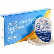 Линзы контактные «Air Optix Night&Day Aqua» r8,6 -5.00.