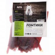 Лакомство «My Happy Pets» ломтики из мяса ягненка, 100 г.