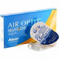 Линзы контактные «Air Optix Night&Day Aqua» r8,6 -5.25.