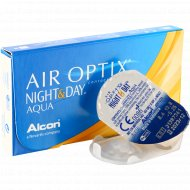 Линзы контактные «Air Optix Night&Day Aqua» r8,6 -5.25.
