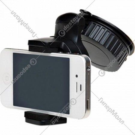 Держатель для телефона на лобовое стекло раздвижное.