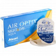 Линзы контактные «Air Optix Night&Day Aqua» r8,6 -3.75.
