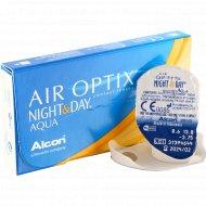 Линзы контактные «Air Optix Night&Day Aqua» r8,6 -3.75.