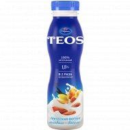 Йогурт греческий «Teos» миндаль-ваниль, 1.8%, 300 г.
