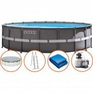 Каркасный бассейн «Intex» Ultra Frame, 26330