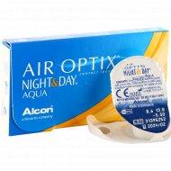 Линзы контактные «Air Optix Night&Day Aqua» r8,6 -5.50.