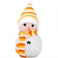 Фигура светодиодная «Снеговик» 10 см, RGB 513-019.