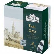 Чай черный «Ahmad» Эрл Грей, с ароматом бергамота, без ярлычка, 100х2 г.