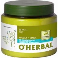 Маска для сухих тусклых волос с экстрактом льна «O'HERBAL» 500м.