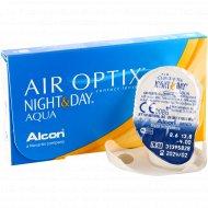 Линзы контактные «Air Optix Night&Day Aqua» r8,6 -4.00.