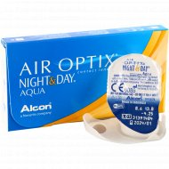 Линзы контактные «Air Optix Night&Day Aqua» r8,6 -4.25.