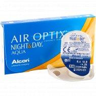 Линзы контактные «Air Optix Night&Day Aqua» r8,6 -4.25.