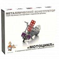 Конструктор металлический «Мотоцикл» 105 деталей.