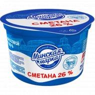 Сметана «Минская марка» 26%, 180 г