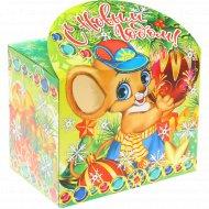 Новогодний подарок «Мышонок с шариком» 500 г.