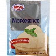 Смесь для мороженого «Aleva» с ароматом пломбира, 75 г.