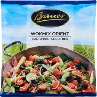 Смесь восточная вок «Bauer» овощная с грибами, быстрозамороженная, 400 г