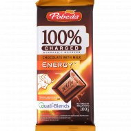 Шоколад с молоком «Чаржед» энержи, 100 г.