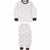 Пижама для мальчика «Ежики».