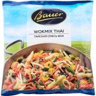 Смесь овощная тайская «Bauer» быстрозамороженная, 400 г.