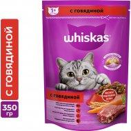 Корм для кошек с говядиной «Whiskas», 350г