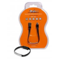 Зарядный универсальный кабель-браслет microUSB.